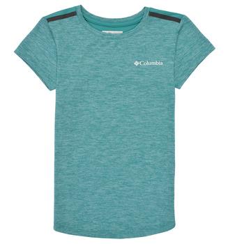 textil Pige T-shirts m. korte ærmer Columbia TECH TREK Grøn
