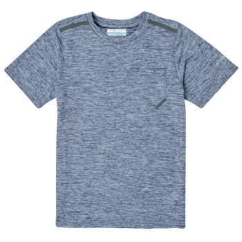 textil Dreng T-shirts m. korte ærmer Columbia TECH TREK Marineblå