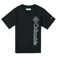 textil Dreng T-shirts m. korte ærmer Columbia HAPPY HILLS GRAPHIC Sort