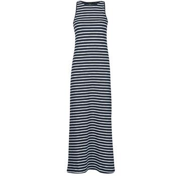 textil Dame Lange kjoler Superdry JERSEY MAXI DRESS Blå
