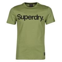 textil Herre T-shirts m. korte ærmer Superdry MILITARY GRAPHIC TEE 185 Oliven