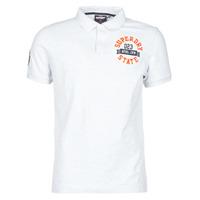 textil Herre T-shirts m. korte ærmer Superdry CLASSIC SUPERSTATE S/S POLO Grå