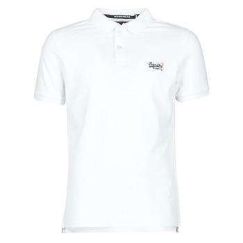 textil Herre T-shirts m. korte ærmer Superdry CLASSIC PIQUE S/S POLO Optisk