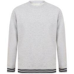 textil Sweatshirts Front Row FR840 Heather Grey/Navy
