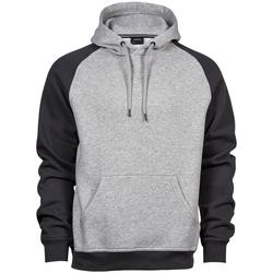 textil Herre Sweatshirts Tee Jays T5432 Heather Grey/Dark Grey