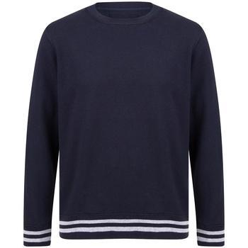 textil Sweatshirts Front Row FR840 Navy/Heather Grey