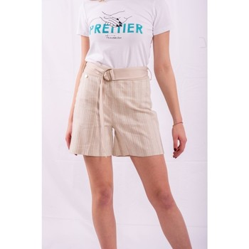 textil Dame Shorts Fracomina FR20SM566 Farveløs
