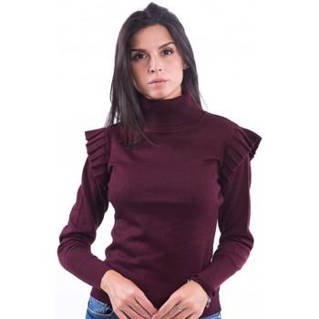 textil Dame Pullovere Fracomina F120W04014K03901 Bordeaux