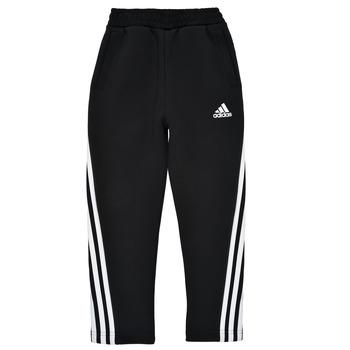 textil Dreng Træningsbukser adidas Performance B 3S TAPERED P Sort