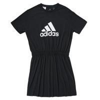 textil Pige Korte kjoler adidas Performance G DANCE DRESS Sort