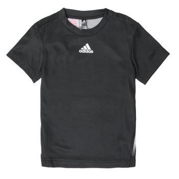 textil Dreng T-shirts m. korte ærmer adidas Performance B A.R. TEE Sort