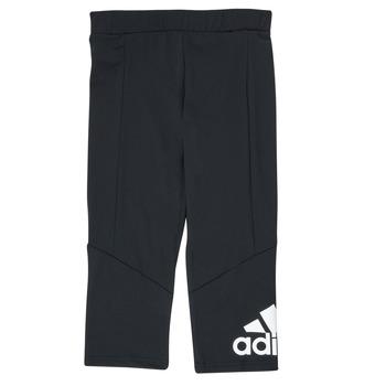 textil Pige Leggings adidas Performance G BL 34 TIG Sort