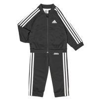 textil Børn Sæt adidas Performance 3S TS TRIC Sort