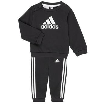 textil Børn Sæt adidas Performance BOS JOG FT Sort