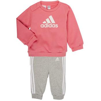 textil Pige Sæt adidas Performance BOS JOG FT Pink