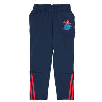 textil Dreng Træningsbukser adidas Performance LB DY SHA PANT Marineblå