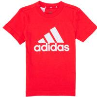 textil Dreng T-shirts m. korte ærmer adidas Performance B BL T Rød