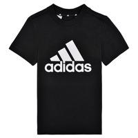 textil Dreng T-shirts m. korte ærmer adidas Performance B BL T Sort