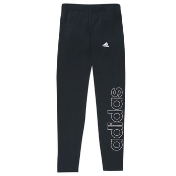 textil Pige Leggings adidas Performance G LIN LEG Sort