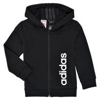 textil Dreng Sweatshirts adidas Performance YB TR 3S FZ Sort