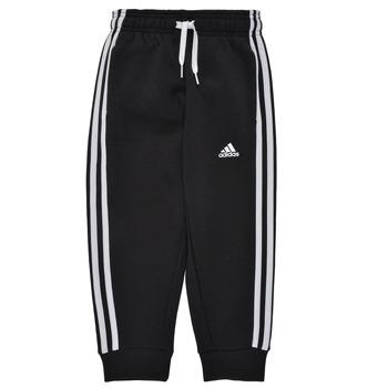 textil Dreng Træningsbukser adidas Performance B 3S FL C PT Sort