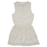 textil Pige Korte kjoler Deeluxe JESTA Hvid