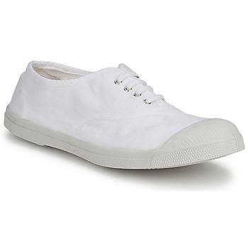 Sko Herre Lave sneakers Bensimon TENNIS LACET Hvid