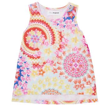 textil Pige Toppe / T-shirts uden ærmer Desigual 21SGCW02-3146 Flerfarvet