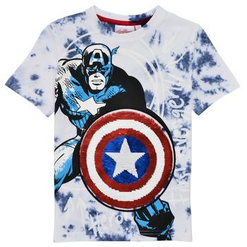 textil Dreng T-shirts m. korte ærmer Desigual 21SBTK09-5036 Flerfarvet