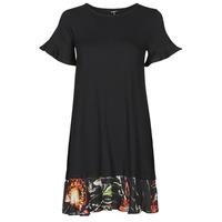 textil Dame Korte kjoler Desigual KALI Sort