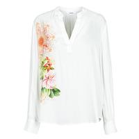 textil Dame Skjorter / Skjortebluser Desigual TIGRIS Hvid