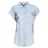 textil Dame Skjorter / Skjortebluser Desigual SULLIVAN Blå