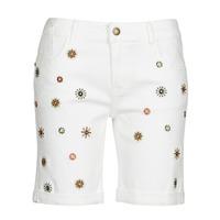 textil Dame Shorts Desigual GRECIA Hvid