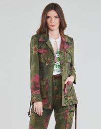 textil Dame Jakker / Blazere Desigual CAMOASIS Kaki