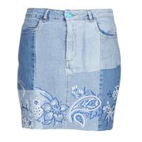textil Dame Nederdele Desigual BE BLUE Blå