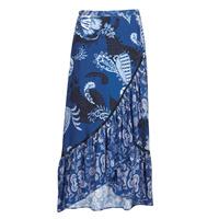 textil Dame Nederdele Desigual NEREA Blå