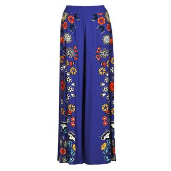 textil Dame Løstsiddende bukser / Haremsbukser Desigual CHIPRE Blå