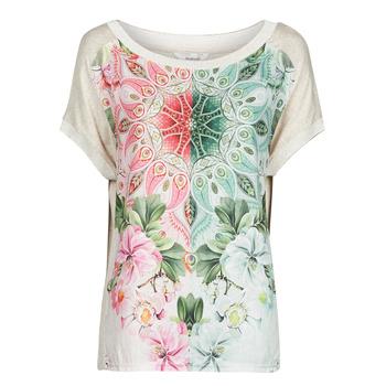 textil Dame T-shirts m. korte ærmer Desigual COPENHAGUE Hvid