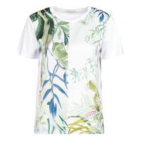 textil Dame T-shirts m. korte ærmer Desigual BUDAPEST Hvid