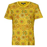 textil Dame T-shirts m. korte ærmer Desigual LYON Gul