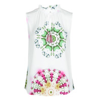 textil Dame Toppe / T-shirts uden ærmer Desigual ROSEN Hvid