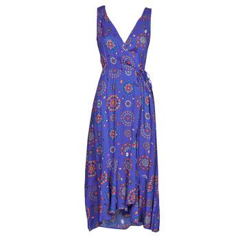 textil Dame Lange kjoler Desigual SANTORINI Marineblå