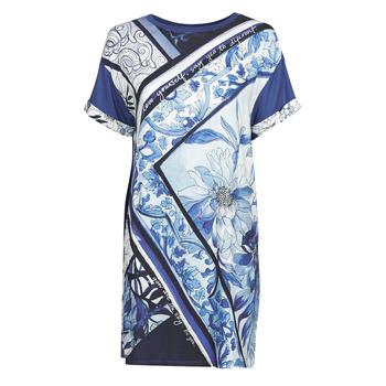 textil Dame Korte kjoler Desigual SOLIMAR Blå