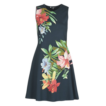 textil Dame Korte kjoler Desigual KILKENY Marineblå