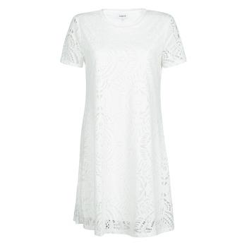 textil Dame Korte kjoler Desigual NILO Hvid