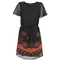 textil Dame Korte kjoler Desigual TAMPA Sort