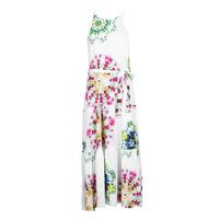 textil Dame Lange kjoler Desigual SENA Hvid