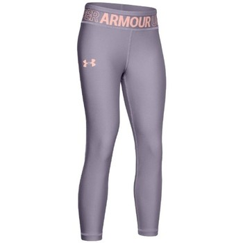 textil Pige Leggings Under Armour HG Ankle Crop K Grå