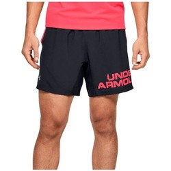 textil Herre Shorts Under Armour Speed Stride Graphic 7 Shorts Sort