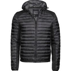 textil Herre Dynejakker Tee Jays T9610 Black/Black Melange